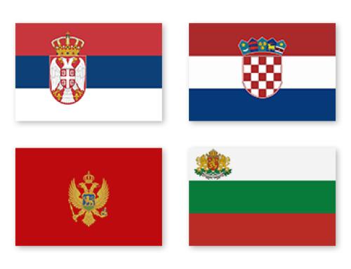 Der Payment Markt in Serbien, Kroatien, Montenegro, Bulgarien